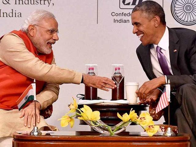 Barack Obama,PM Modi,Modi in US