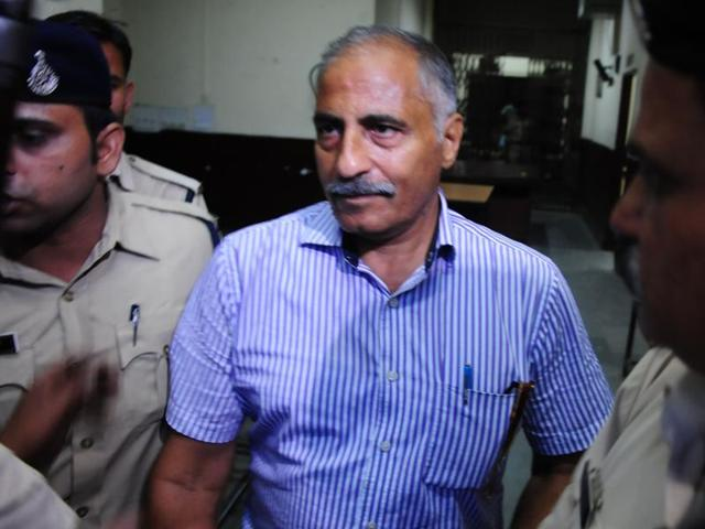 Ex-IAS officer Arvind Joshi was sent to judicial custody in the disproportionate assets case in Bhopal on Tuesday.