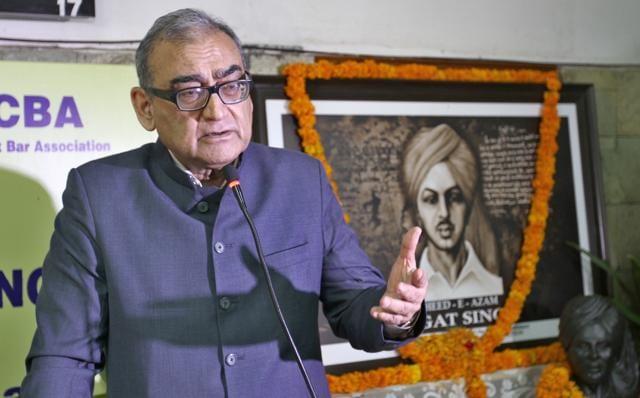 Markandey Katju,Gandhi,High court