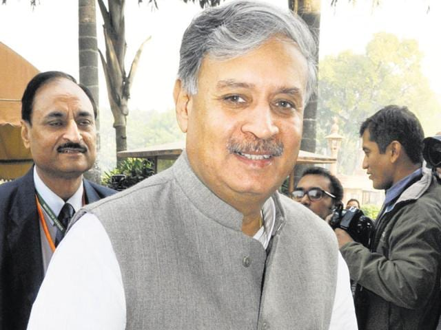 Minister of state and Gurgaon MP Rao Inderjit Singh.