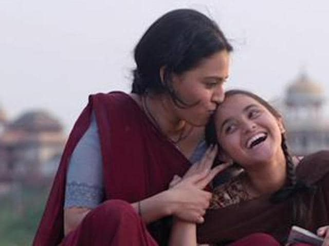 Swara plays the role of a mother of a teenage kid in  Nil Battey Sannata.