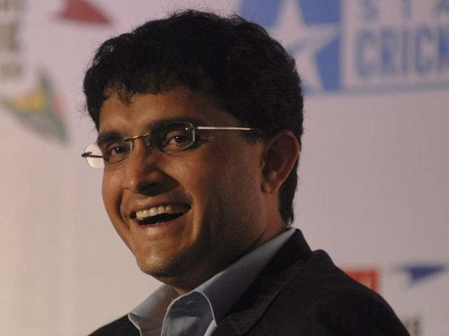 A file photo of former Indian cricket captain Sourav Ganguly.