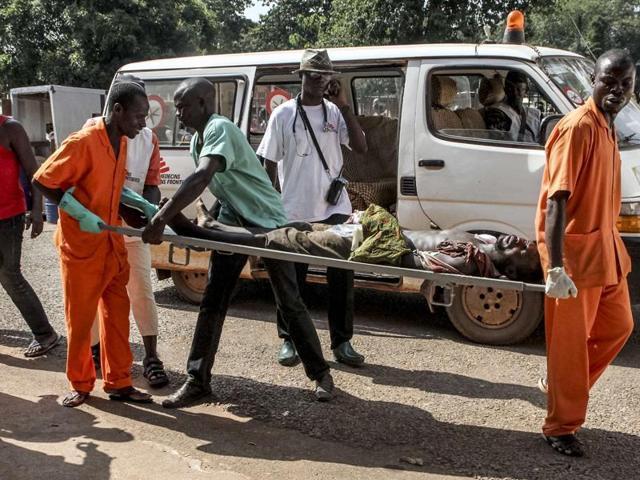Central African Republic,Bagui,Christian militia