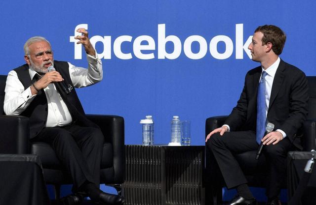 Narendra Modi,India's 21st Century,Mark Zuckerberg