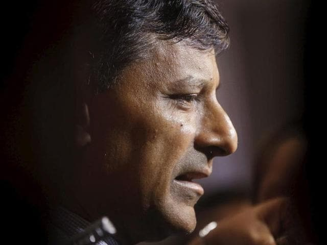 Reserve Bank of India governor Raghuram Rajan speaks during a gathering of industrialists and bankers in Mumbai. The RBI has made four rate cuts since January.