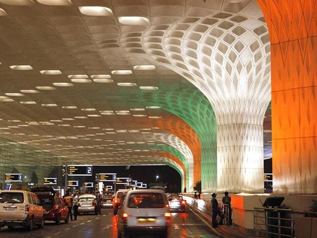 File  photo of  Mumbai Airport. Security was tightened at the airport on late night on September 29, 2015, after a call threatening serial blasts across its terminals.