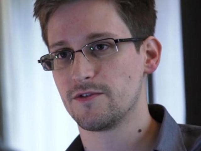 File photo of Edward Snowden.