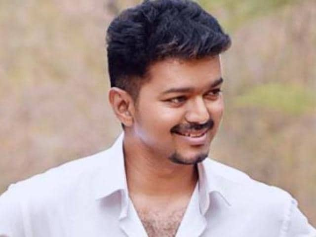 IT raids being conducted at Tamil actor Vijay's residence in Chennai.