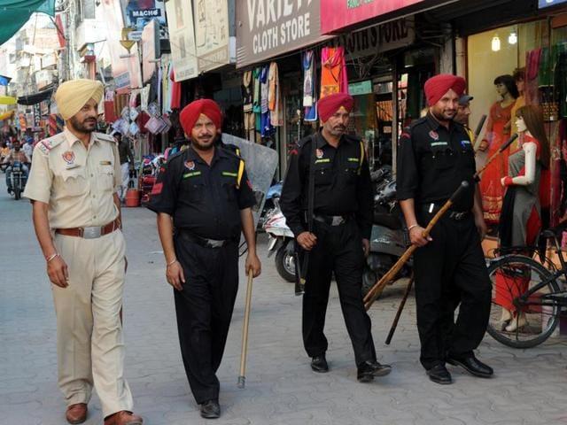 Punjab Bandh call,No response,Patiala
