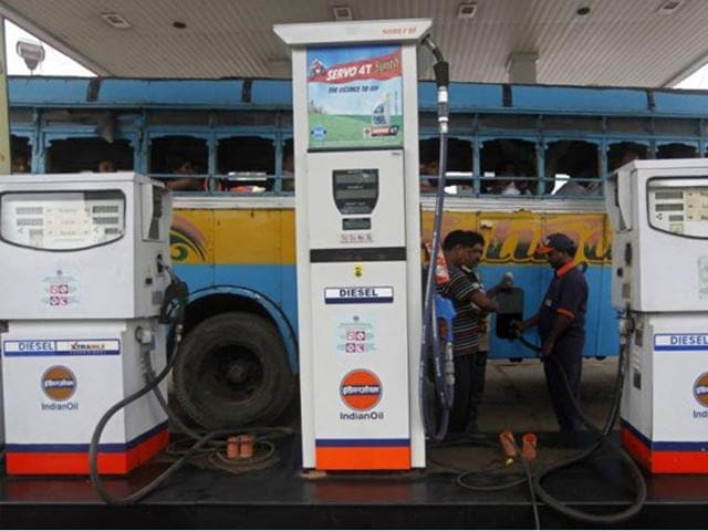 Diesel will cost Rs 44.95 per litre with effect from Wednesday midnight as against Rs 44.45 currently, Indian Oil Corp, the nation's largest fuel retailer, said.