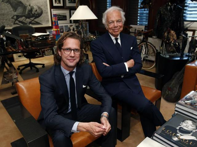 A file photo of US designer Ralph Lauren. The legendary designer announced that he was stepping down as CEO of the vast business empire he founded nearly half a century ago.