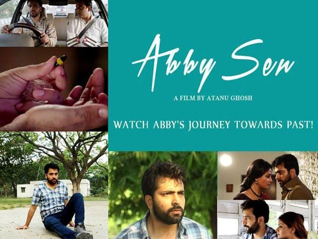 Abby Sen stars Abir Chatterjee, Raima Sen and politcian-actor Bratya Basu.