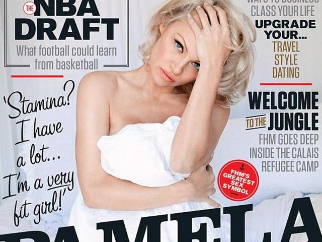 Pamela Anderson,Pamela Anderson magazine cover,Baywatch