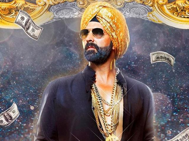 Akshay Kumar in a still from Singh Is Bliing.
