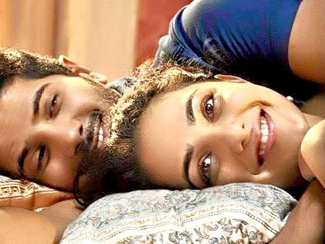 Mani Ratnam's O Kadhal Kanmani stars Nitya Menen and Dulquer Salmaan and deals with today's youth, their attitude towards man-woman relationship -- all set against the older values of tradition and marriage.((OkKanmani/Facebook))
