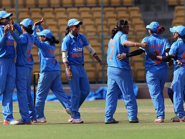 A file photo of the Indian women's cricket team. The Indian eves are fourth in the ICC's latest multi-format