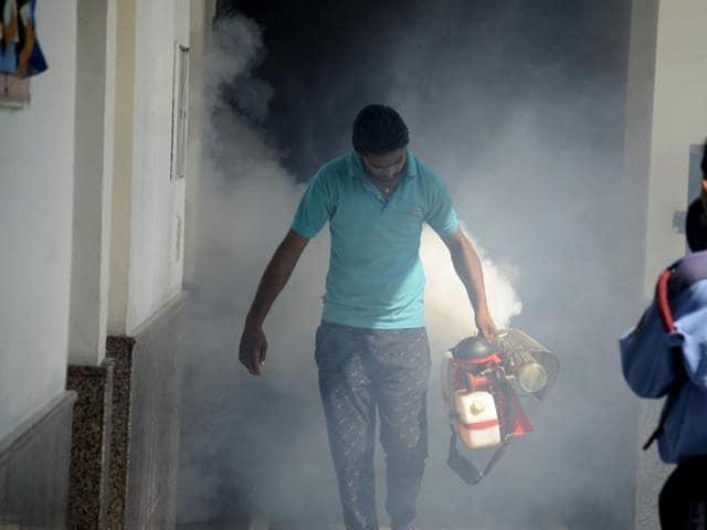 Dengue cases,Delhi,South Delhi Municipal Corporation