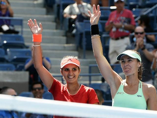 Sania Mirza and Martina Hingis notched up their 25th straight win to enter the final of the Brisbane International on January 8, 2016.