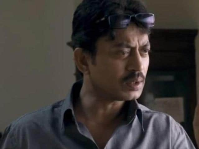 Irrfan Khan plays an investigating officer in Talvar.