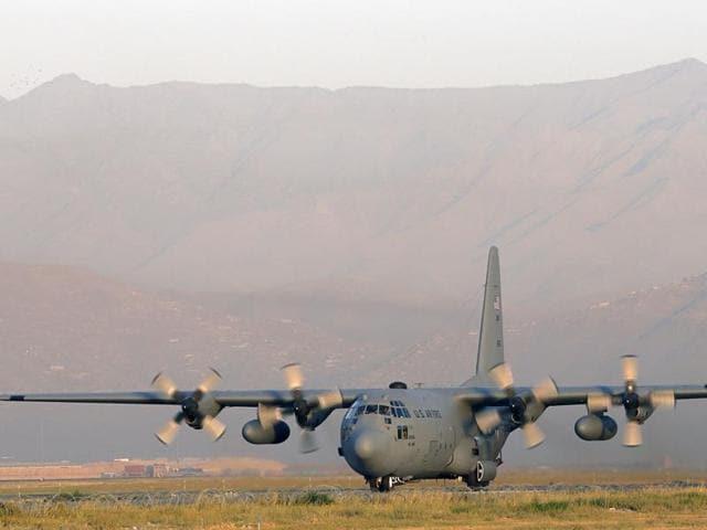 Afghanistan,Plane crash in Afghanistan,C-130 military transport plane