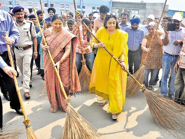 Swachh Bharat Abhiyan,Narendra Modi,Chandigarh