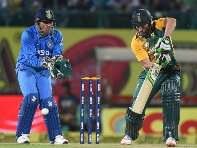 India vs South Africa cricket series 2015,MS Dhoni,Faf Du Plessis