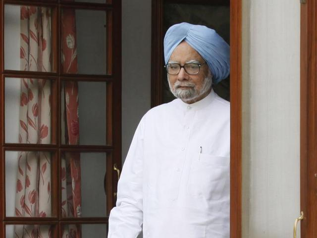 File photo of former prime minister Manmohan Singh.