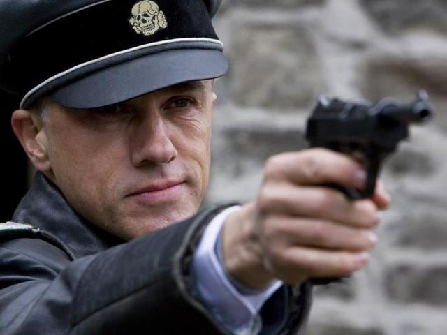 Christopher Waltz (Col. Hans Landa) stars in Quentin Tarantino's INGLOURIOUS BASTERDS.