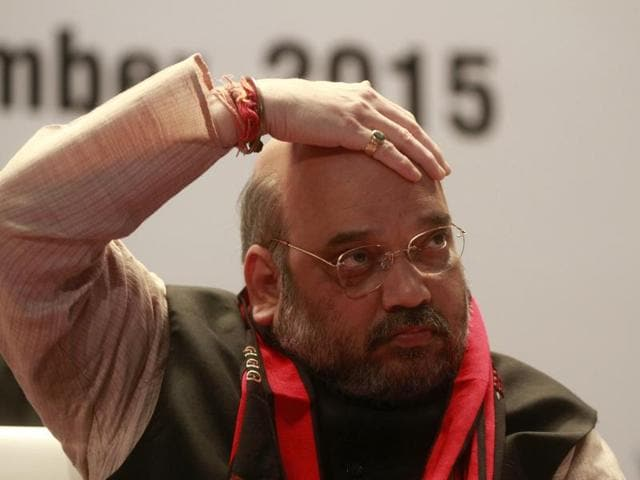 Amit Shah,BJP,Reservation Policy