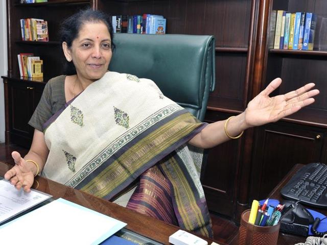 Nirmala Sitaraman discusses Companies Act with stakeholders.(HT File Photo)