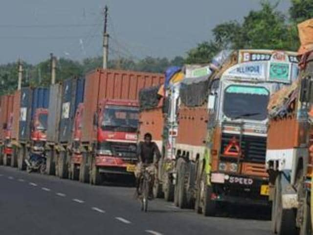 day 3,truckers strike,toll barriers