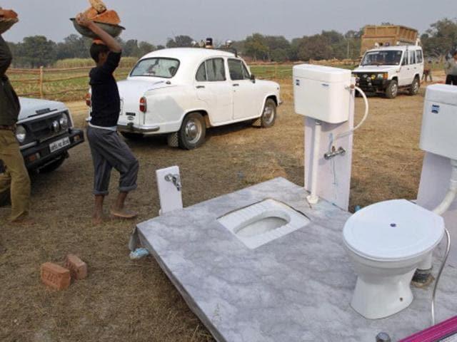 Madhya Pradesh,Month to build toilet,Betul