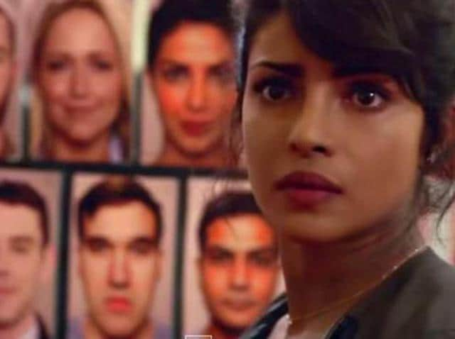 Priyanka Chopra in the TV show Quantico.