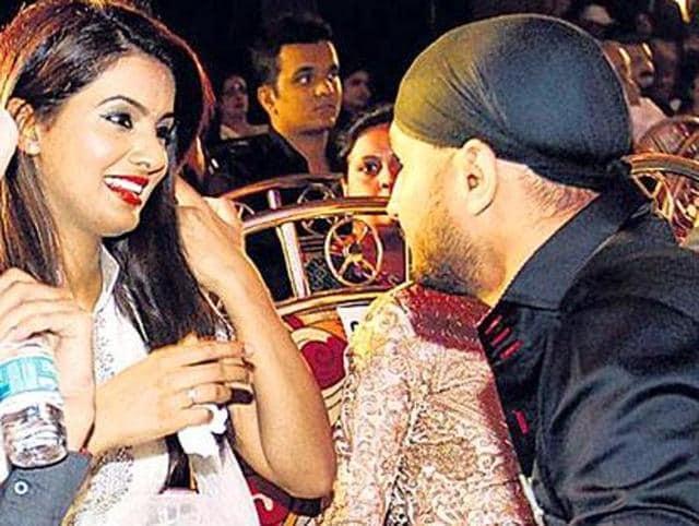 Harbhajan Singh,Geeta Basra,Bhajji wedding