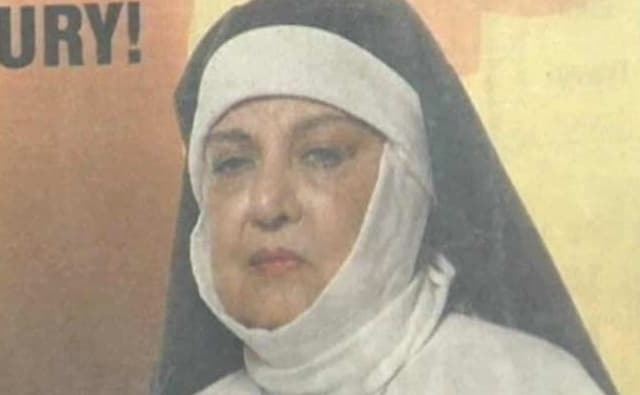 A still from the play 'Agnes of God'.