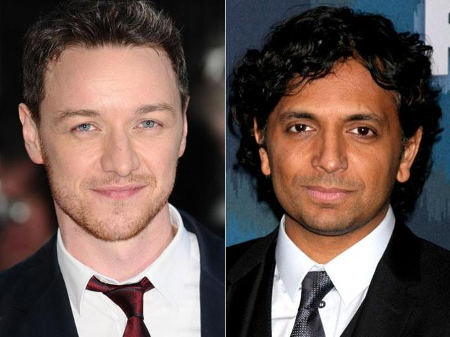 James McAvoy and M Night Shyamalan are teaming up.
