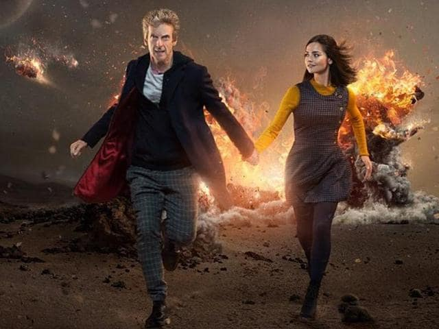 Peter Capaldi as the new iteration of the doctor.