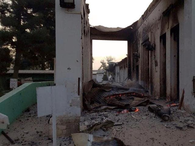 Medecins Sans Frontieres,MSF Kunduz Hospital,US Afghanistan airstrikes