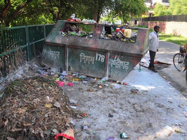 garbage,Swachh Bharat,Chandigarh