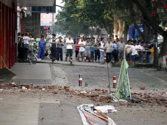 China serial blasts
