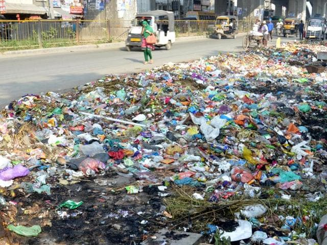 Amritsar's lack of social hygiene is evident from its littered streets.
