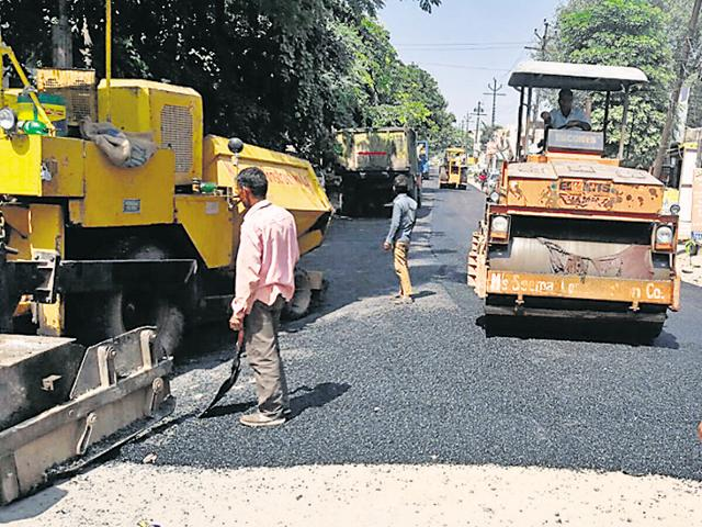 Residents had been holding meetings and sending letters to the authority for repairing these roads.