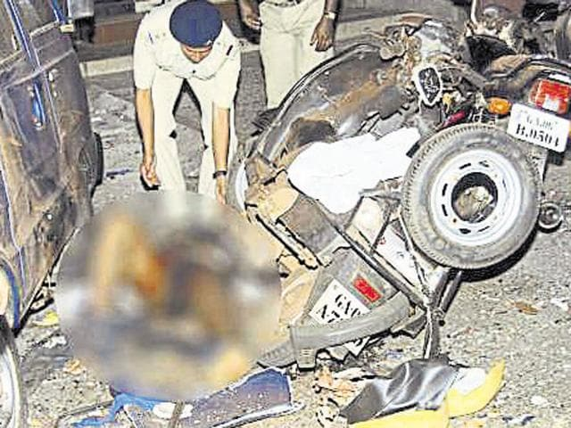 On October, 16, 2009, two alleged Sanatan Sanstha members were killed after a bomb they were carrying in a scooter accidentally went off.
