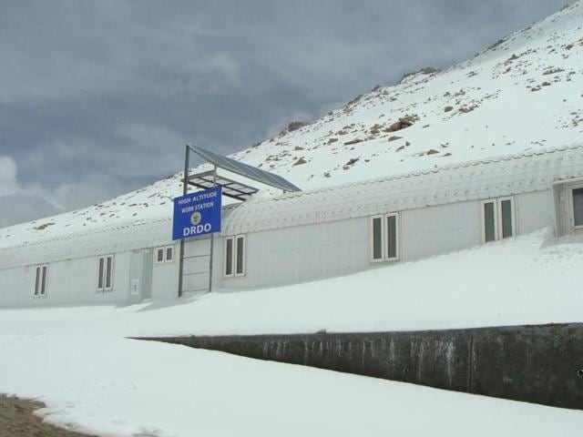 DRDO established an Extreme Altitude Research Centre at Chang La (17,600 ft AMSL) in Ladakh.