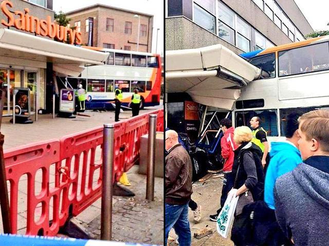 London bus accident