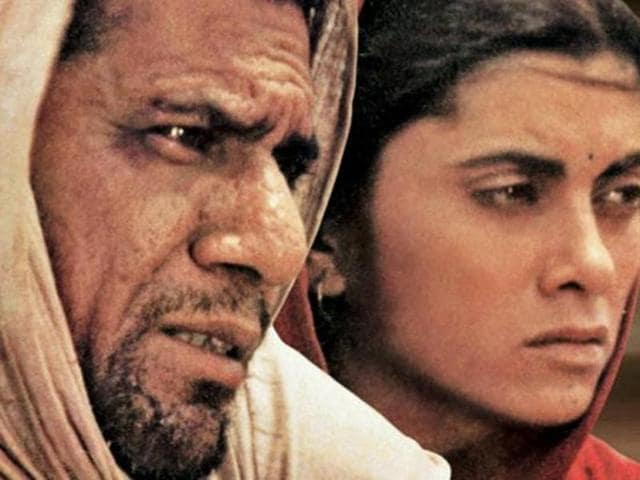 A poster of 'Tamas', based on a novel by Bhisham Sahni (right), and directed by Govind Nihalani (below) in 1987.