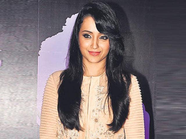 Tamil Actor Trisha Krishnan.
