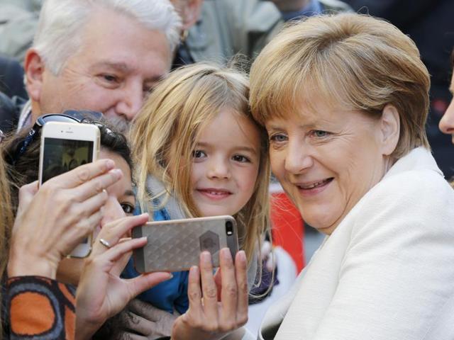Prime Minister Narendra Modi, German Chancellor Angela Merkel, Brazilian President Dilma Rousseff and Japanese Prime Minister Shinzo Abe at G4 Summit in New York.(PTI File Photo)