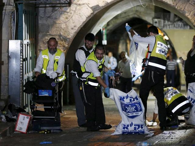 Jerusalem,Palestinian kills 2,West Bank