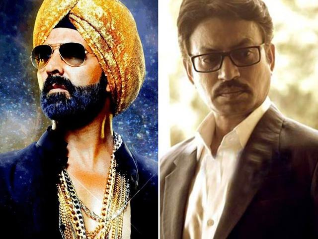 Akshay in Singh Is Bliing, Irrfan in Talvar.